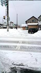 20170209駐車場雪寄せ後2