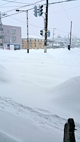 20170211雪寄せ前の様子昼過ぎ1