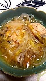 20170211晩ご飯肉団子