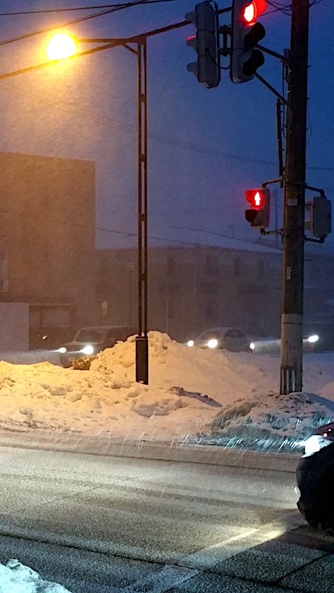 20170218外の様子夕方大雪1