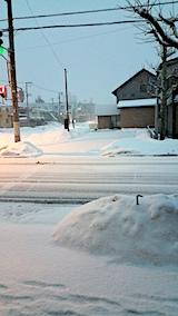 20170220外の様子朝雪寄せ前