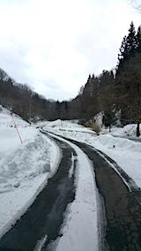20170222山へ向かう途中の様子峠道