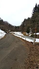 20170321山へ向かう途中の様子峠道