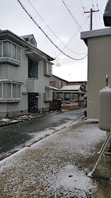 20170324外の様子朝うっすらと雪が6