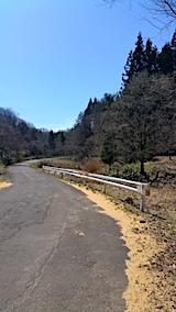 20170414山へ向かう途中の様子峠道