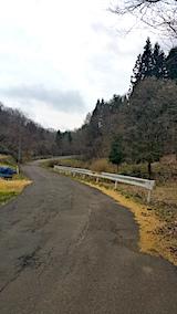 20170416山へ向かう途中の様子峠道