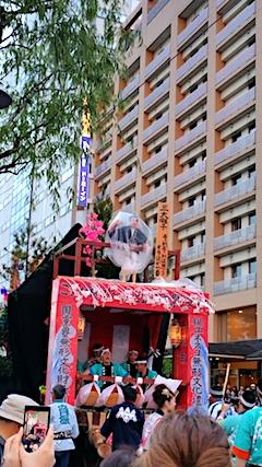 20170527土崎神明社祭の曳山行事