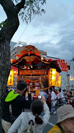 20170527鹿角市花輪祭の屋台行事