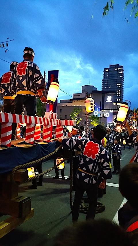 20170527角館祭りのやま行事1