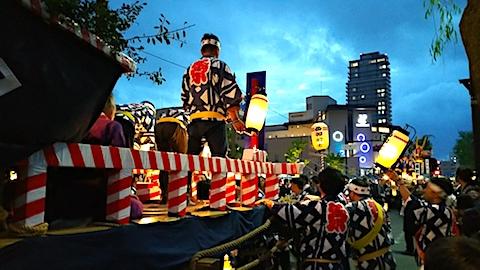 20170527角館祭りのやま行事2