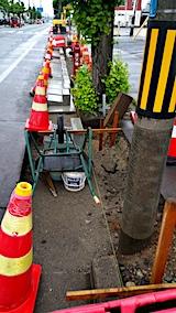 20170608歩道の工事