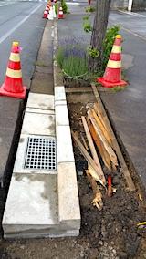 20170610L型側溝の整備工事1