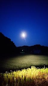 20170708外の様子夜のはじめ頃お月さま