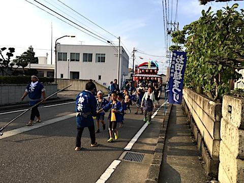 20170711お田植えまつり宵祭り太鼓台1