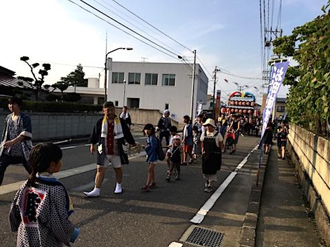 20170711お田植えまつり宵祭り太鼓台3