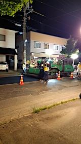 20170718東大通り仮舗装工事1