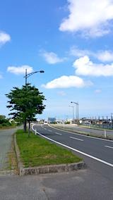 20170719外の様子城東十字路方面