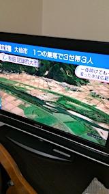 20170724NHKニュース秋田県記録的大雨2