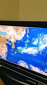 20170801NHKテレビより明日の気圧配置2
