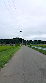 20170810山へ向かう途中の様子猿田川沿い