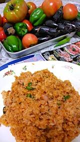 20170812お昼ご飯チキンライス