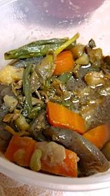 20170812晩ご飯野菜の煮つけ