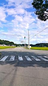 20170815山へ向かう途中の様子交差点