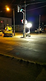 20170821東大通り舗装工事1