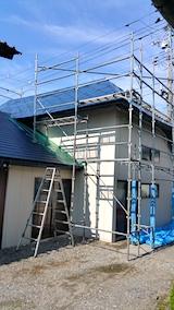 20170829屋根の塗装作業1