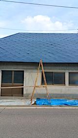 20170829屋根の塗装作業2