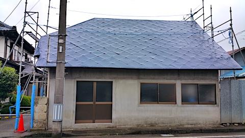 20170830塗装作業の終わった屋根3