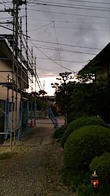 20170831外の様子夕方1