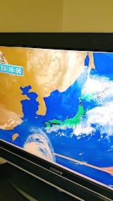 20170912夕方のテレビ天気概況1