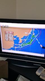 20170916NHKテレビより台風18号の進路
