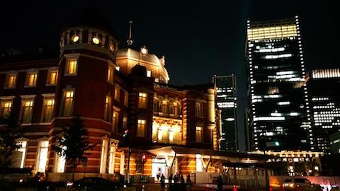 20171009東京駅前の様子2