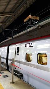 20171009東京駅秋田新幹線最終こまち号