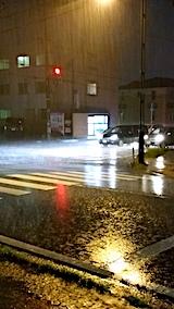 20171011外の様子夕方大雨1