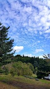 20171012山の様子青空