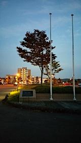 20171024外の様子夕方遊学舎前