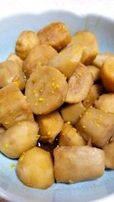 20171105お昼ご飯サトイモの煮もの
