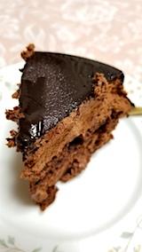 20171116デザートチョコレートケーキ