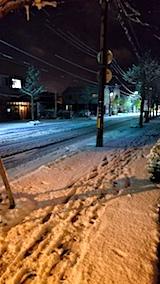 20171121夜遅く雪がやむ