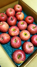 20171201会津からりんごが届く2