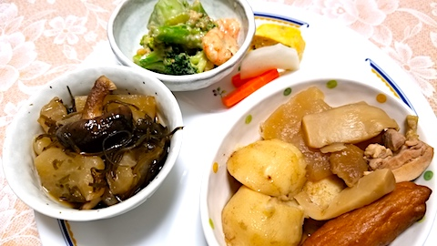 20171201晩ご飯