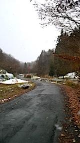 20171202山へ向かう途中の様子峠道
