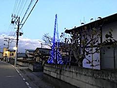 20171203会津クリスマスツリーの点灯1