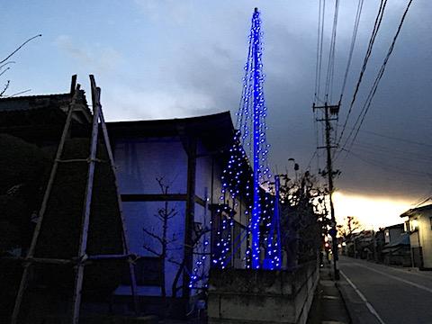 20171203会津クリスマスツリーの点灯3