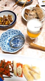 20171203晩ご飯モルトビール1