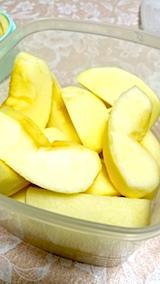 20171205デザートリンゴ