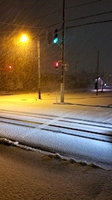 20171211外の様子夜遅く雪3